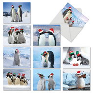 M2951XS - Penguins And Greetings: Mixed Set of 10 Cards