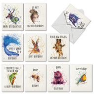 M2954BD - Wildlife Expressions: Mixed Set of 10 Cards