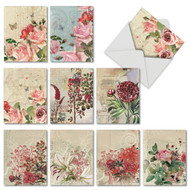 M2988TY - Botanical Collages: Assorted Set of 10 Cards