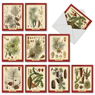 M9627XT - Pining For Christmas: Mixed Set of 10 Cards