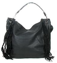 Black Fringe Tassle Fashion Purse