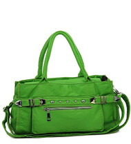 Green Retro Designer Inspired Purse