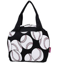 Insulated Lunch Bag (Softball-White)