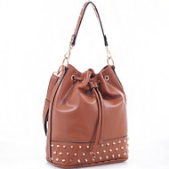 Emperia Outfitters Concealed Carry Bucket Bag - Emma (Brown)
