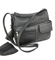 Concealed Carry Gun Bag Genuine Leather Handbag Purse