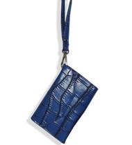 Blue Fashion Cell Phone Holder Wristlet Wallet