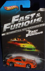 Hot Wheels The Fast and the Furious Official Movie Merchandise Limited Edition Toyota Supra 2/8