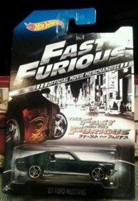 Hot Wheels The Fast and the Furious Official Movie Merchandise Limited Edition '67 Ford Mustang 4/8
