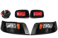 E-Z-GO TXT Headlight & Tail Light Kit 1996-UP