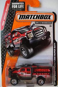 MATCHBOX MBX HEROIC RESCUE SUPERLIFT FORD F-350 SUPER DUTY 85/120