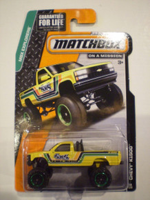Matchbox MBX Explorers - Chevy K1500 4X4 Pickup Truck 88/120