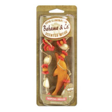 Bahama & Co. Bahama Wood Necklace Air Freshener - Tropical Breeze
