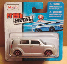 Maisto Fresh Metal Die-Cast Vehicles ~ Scion xB (Silver)