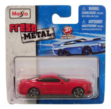Maisto Fresh Metal Die-Cast Vehicles ~ 2015 Ford Mustang GT (Red)