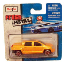 Maisto Fresh Metal Die-Cast Vehicles ~ 2002 GMC Terra4 Concept Truck (Burnt Orange)