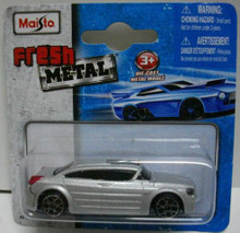Maisto Fresh Metal Die-Cast Vehicles ~ 2001 Dodge Super 8 Hemi Concept (Silver)