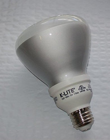 K-LITE 65 WATT ENERGY SAVING INDOOR COMPACT FLUORESCENT LIGHT BULB
