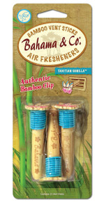 Bahama & Co. Bamboo Vent Sticks Air Freshener - Tahitian Vanilla