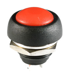 WATERPROOF RED PUSH BUTTON 12V MOMENTARY SWITCH AUTO / BOAT / ATV /MOTORCYCLE