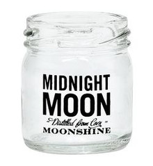 Midnight Moon Moonshine Mini Mason Jar Shot Glass