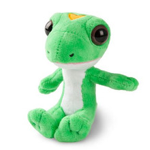 "Geico Gecko 5.5"" Plush Stuffed Animal Lizard"