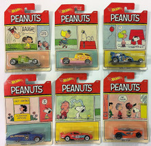 2017 Hot Wheels PEANUTS Complete Set of 6