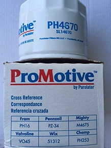 ProMotive PH4670 Automotive Oil Filter