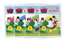 Insect Repelling Mickey and Minnie Mouse Charms Superband Wristbands (4-pack)