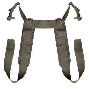 ATS Tactical Gear Modular Padded H-Harness in Ranger Green