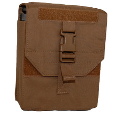 ATS Tactical Gear 200 Round Saw Pouch in Coyote Brown