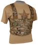 ATS Tactical Gear Slick Front Chest Harness in Multicam