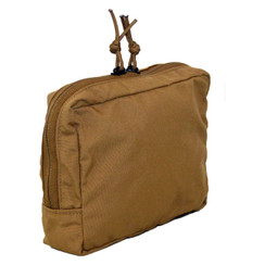 ATS Tactical Gear Slimline 6X8 Utility Pouch in Coyote Brown