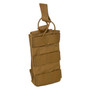 ATS Tactical Gear Tall-Single M4 Magazine Pouch in Coyote Brown