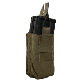 ATS Tactical Gear Double M4 Stacked Shingle in Ranger Green