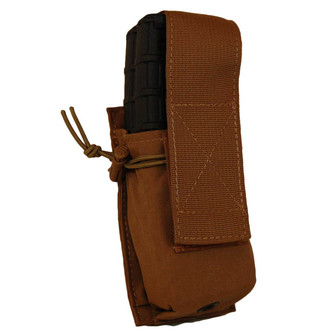 ATS Tactical Gear Double M4 mag pouch in Coyote Brown
