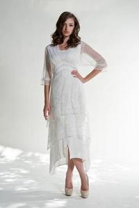 Copy of Nataya TITANIC Ivory Embroidered Dress-S, M, L, or XL