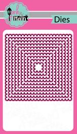Scallop Squares Dies