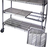 Various types of Atlas plastic mat shelving can be bought online in Coldroom Shelving Brisbane.