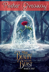 Beauty and the Beast Poster Giveaway
