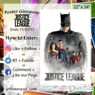 Justice League Giveaway