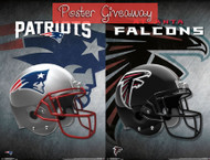 Super Bowl LI Poster Giveaway