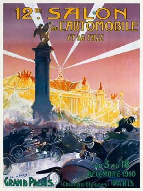 12e Salon de l??Automobile Poster Print by  Gaston Simoes De Fonseca - Item # VARPDX295773