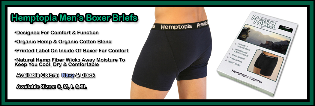 Hemp Boxer Briefs