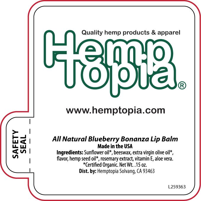 Promotional Lip Balm | Hemptopia