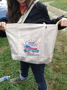 Hemp History Week Tote Bag