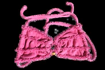 Hemp SwimSuit - Pink - Top
