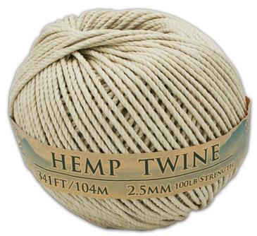 2.5 mm hemp twine