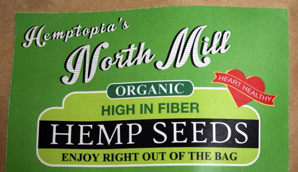 Hemptopia North Mill - Toasted Hemp Seeds - 16oz