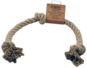 Dog Toy Hemp Rope