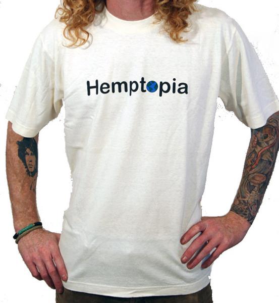 Hemptopia Heavy T-shirt - Hemptopia Logo